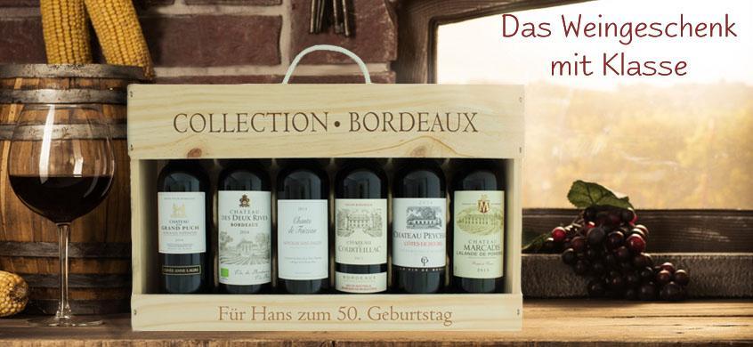 Das Geschenk für Weinliebhaber