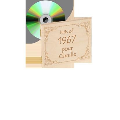 CD de musique de l'année 1920-1995