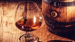 Jahrgangs-Cognac