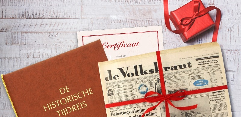 Krant Van De Geboortedag Historia