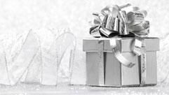 Zilver cadeau