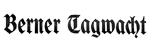 Berner Tagwacht 16.11.1929