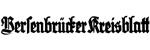 Bersenbrücker Kreisblatt 03.08.1999