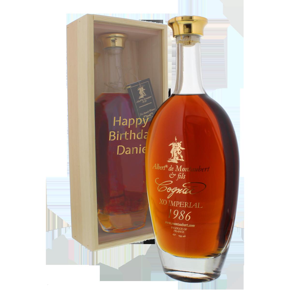 Cognac vom Jahrgang 1951-1989