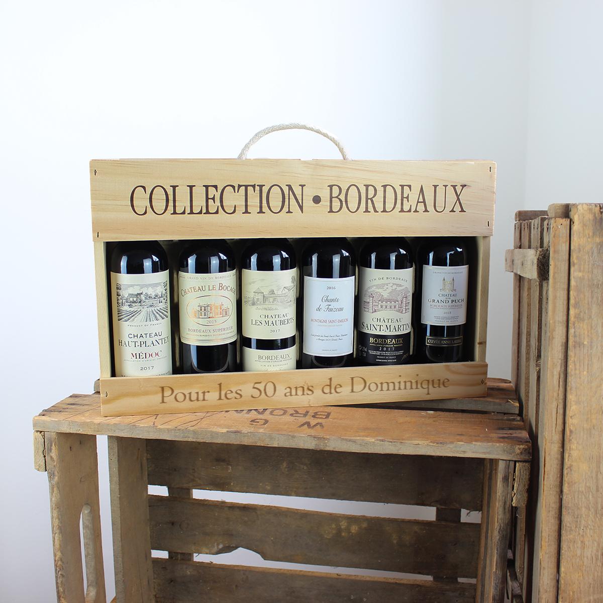 Collection Bordeaux, vins Bordeaux, vin, idée-cadeau, cadeau