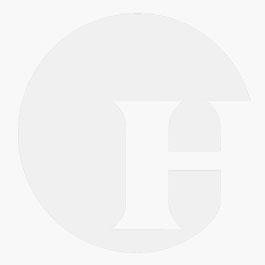 Hartvormige paraplu wit