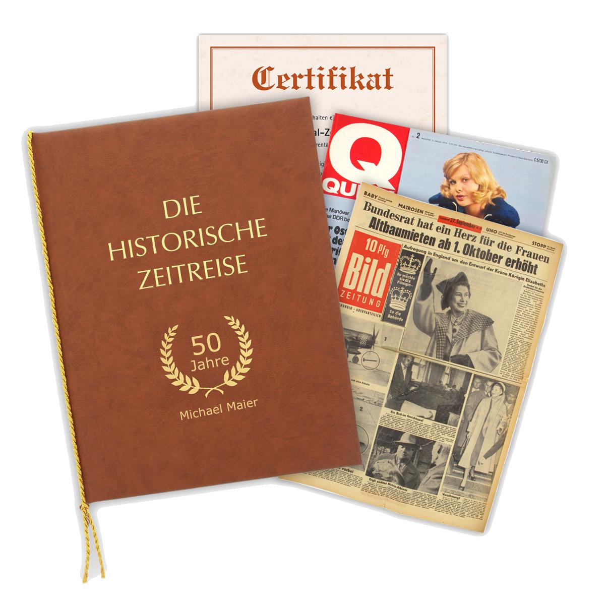Alte Original-Zeitung vom Geburtstag 1900-2014 - das persönliche Geschenk. Verschenken Sie eine Zeitreise.