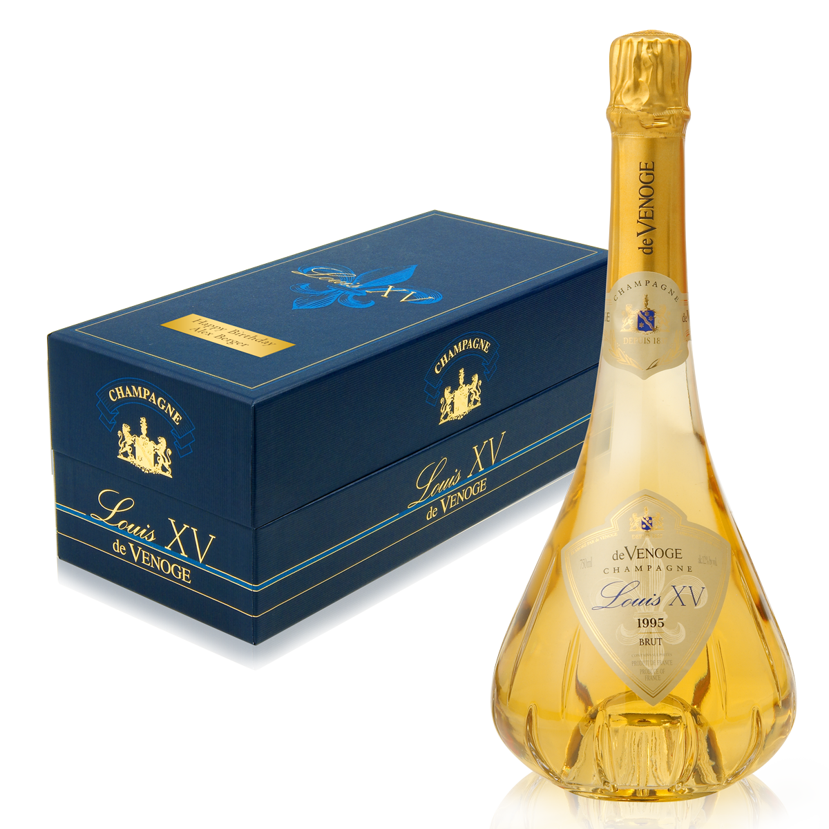 Champagne Louis XV - das sehr exklusive Geschenk