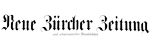 Neue Zürcher Zeitung 10.07.1941
