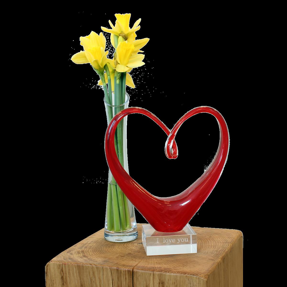 Sculpture Coeur, Saint Valentin, anniversaire