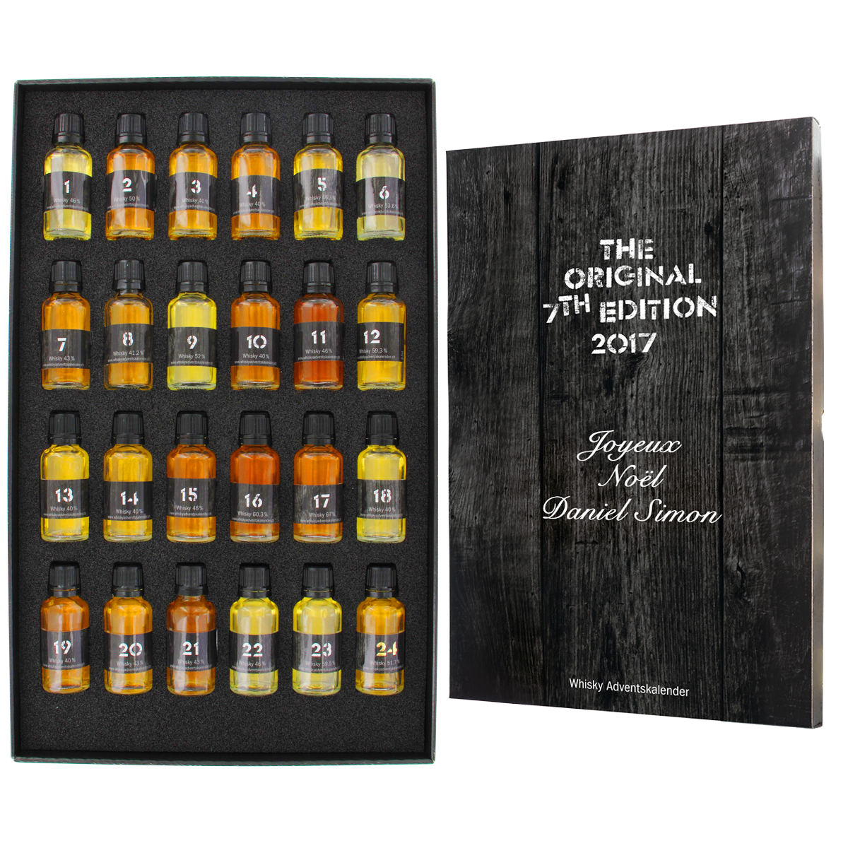 Calendrier de l`Avent Whisky