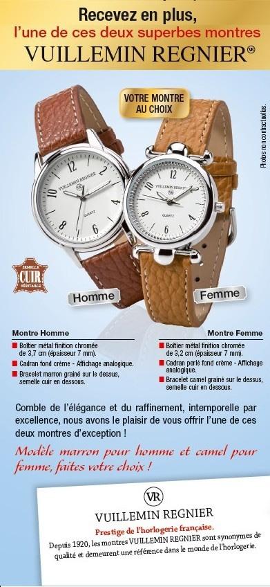 Offre montre